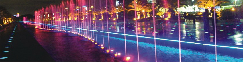 led street light web street fontana underwater - Decorative Lighting